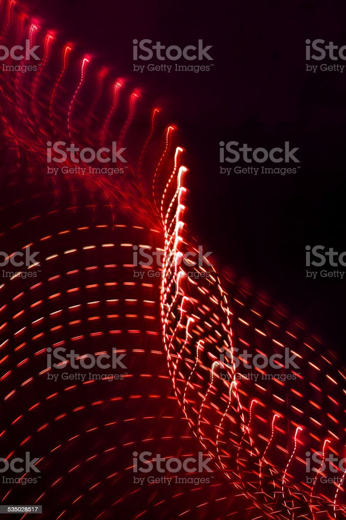 red light lines stock photo