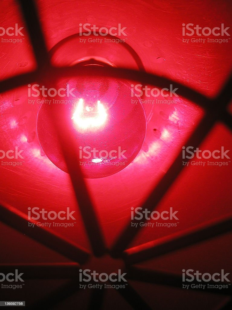 Red light. royalty-free stock photo