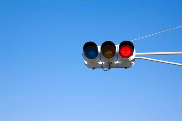 赤信号 ストックフォト