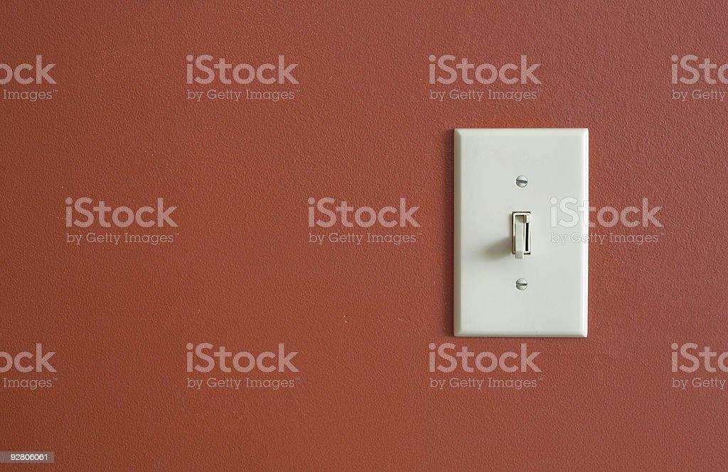 Interrupteur lumière rouge - Photo