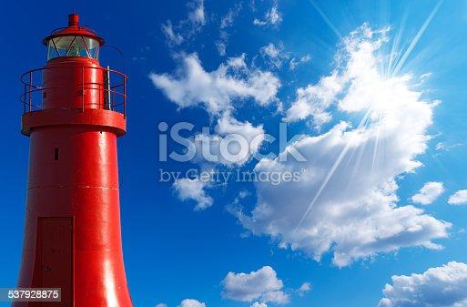 172424642 istock photo Red Lighthouse - La Spezia Italy 537928875