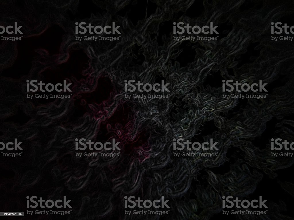 red line in the universe mountains royalty-free stock photo