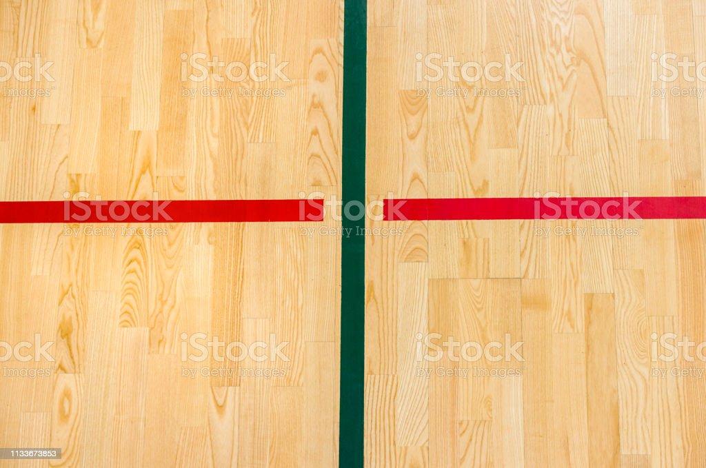 wooden floor badminton, futsal, handball, volleyball, football,...