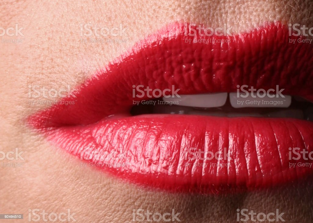 Red Lips! royalty-free stock photo