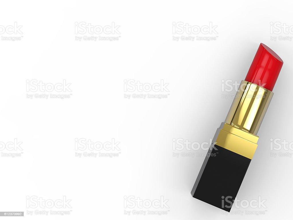 Batom vermelho - foto de acervo