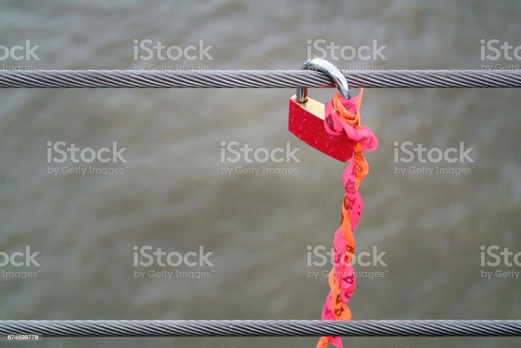 red lock stock photo