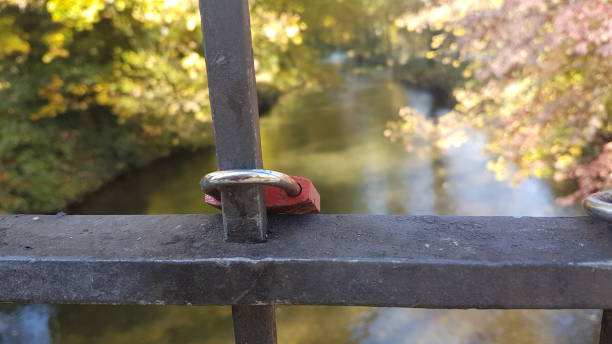 A red lock stock photo