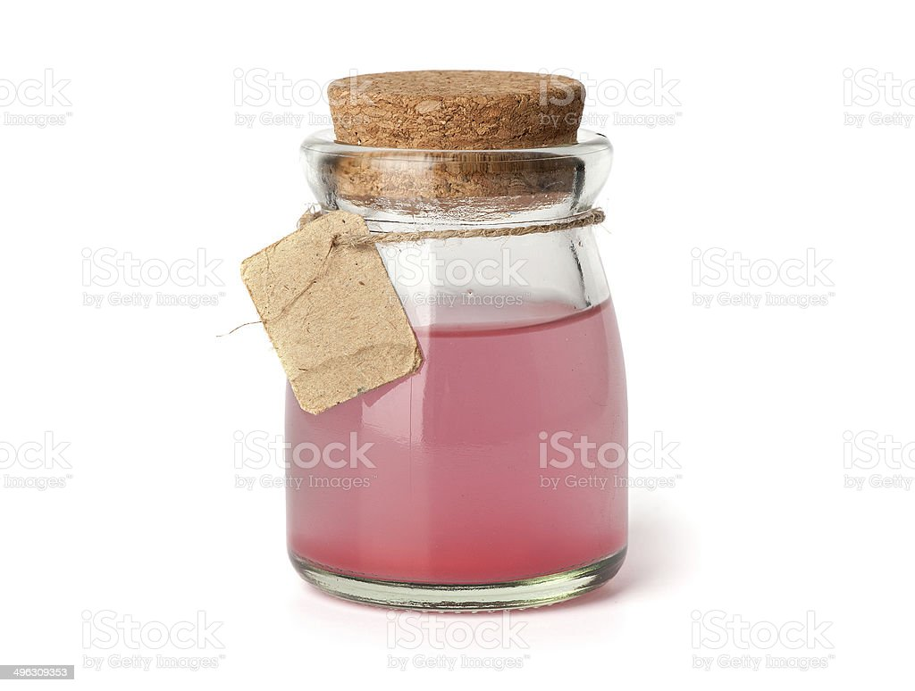 red love potion stock photo