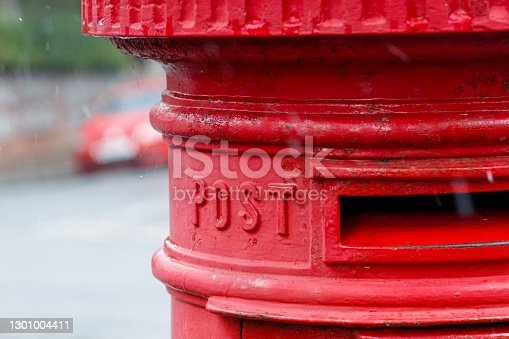 Red Mailbox in the UK