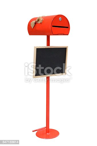 480197395istockphoto red mailbox isolated on white background 547133614