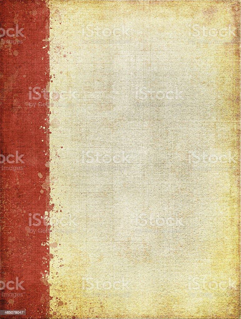 Red Margin Screen Pattern royalty-free stock photo