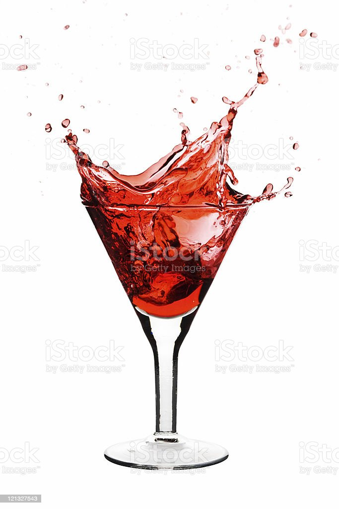 Red Martini royalty-free stock photo