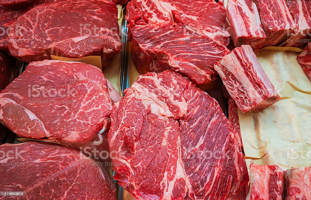 red meat stock photo