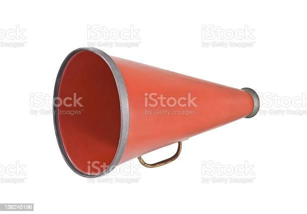Red megaphone against a white background picture id136245196?b=1&k=6&m=136245196&s=612x612&h=bhiuqicmeoqxyjn1hbjiw5j  emaeln8brmeqs76ulm=
