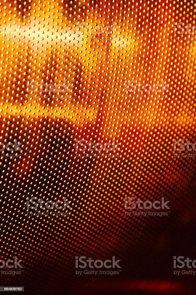 points rouges de métal orange motif acier meshround cercles taches compensation future technologie fond ne repéré grille aluminium alliage fer proches en aluminium chromé petit sombre bouchez les trous aucune photo couleur abstrait de personnes - Photo