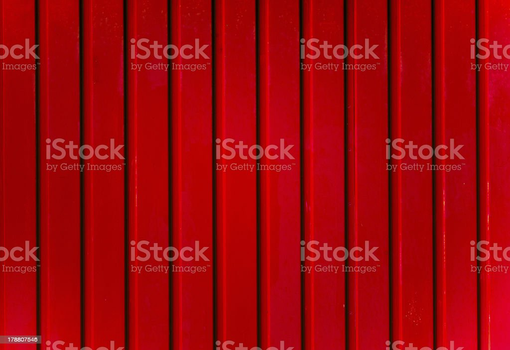 Red metal stock photo