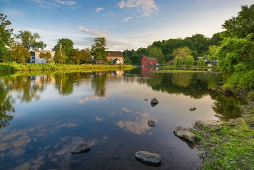 New Jersey, Summer, Waterfall, Clinton - New Jersey, River