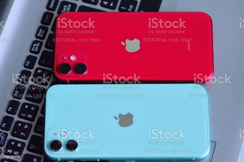 Red Mint Greecolor Apple Iphone 11 Featuring Dual Camera Stock Photo Download Image Now Istock
