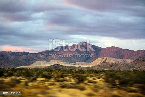 Texan red mountain