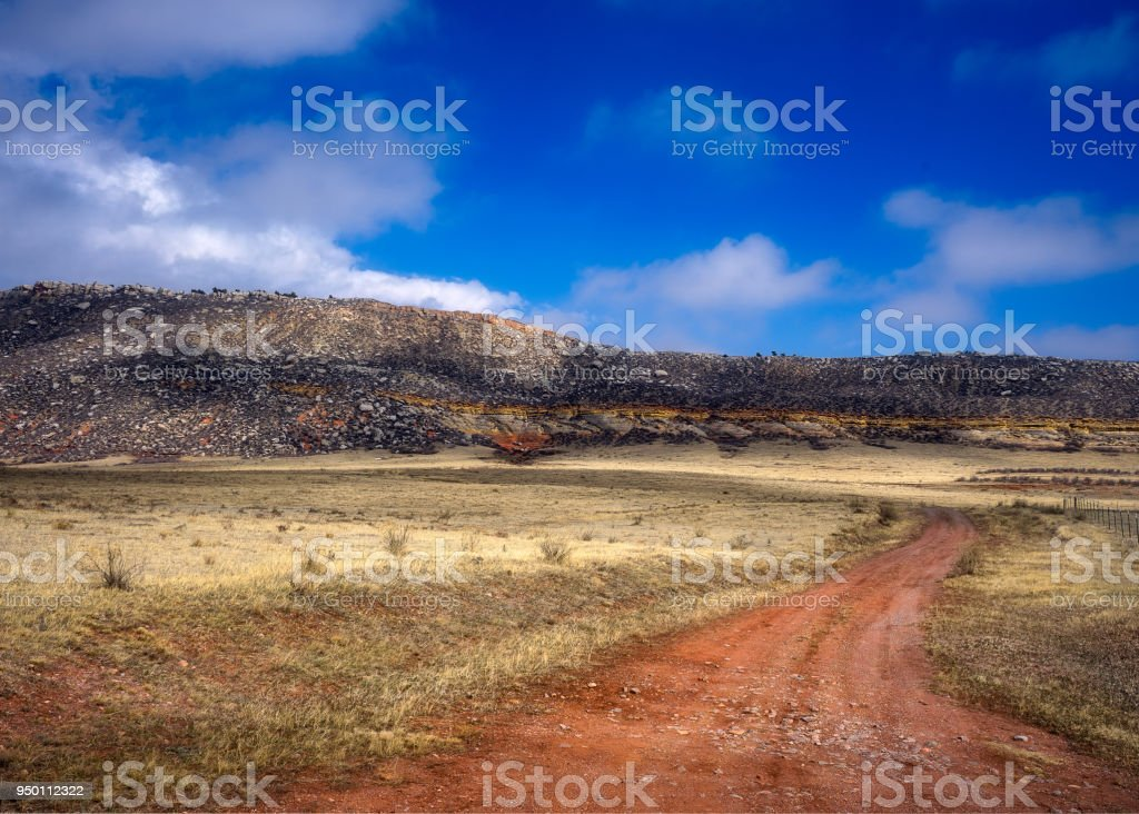 Red Mountain Open Space stock photo