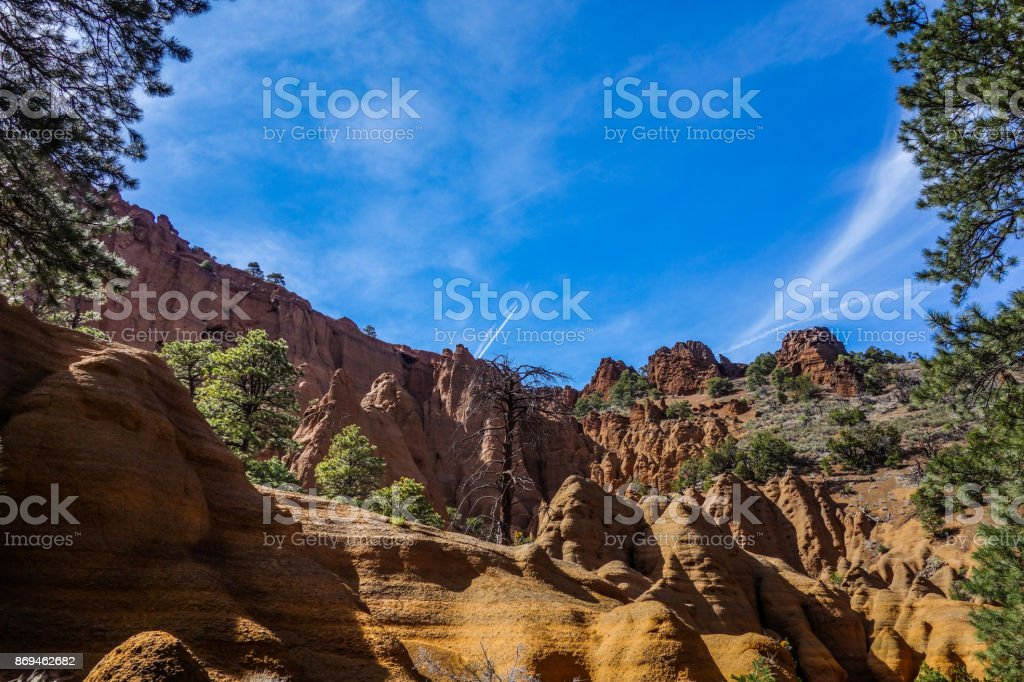 Red Mountain stock photo