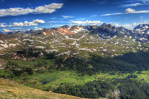 Red Mountains at Engineer's Pass – Foto