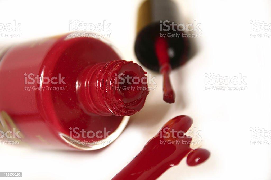 Red Nail Polish royalty-free stock photo