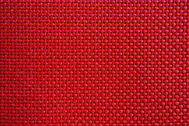 red nylon fabric pattern texture background. - nylon texture stock pictures, royalty-free photos & images