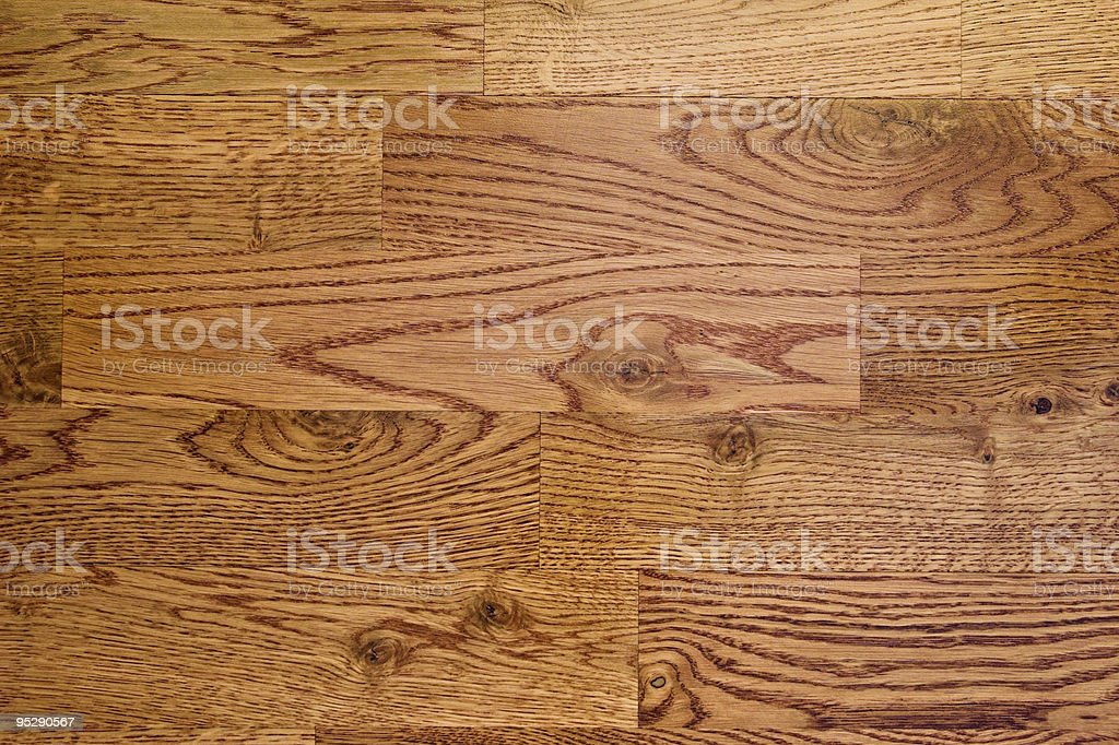 Red Oak Hardwood Flooring Background stock photo