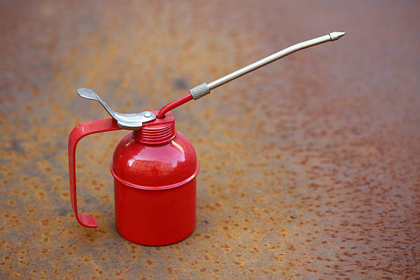 Red oiler stock photo