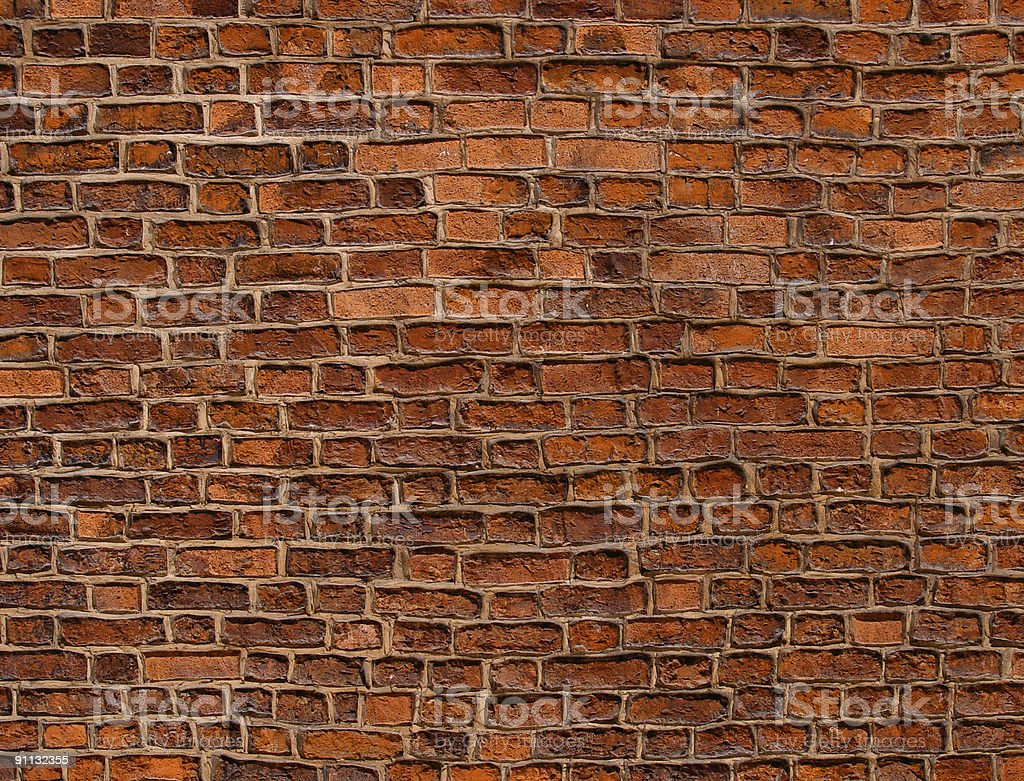 red old wall royalty-free stock photo