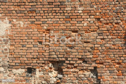 1176496357 istock photo red old wall 94073343
