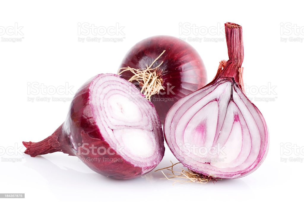 red onion stock photo
