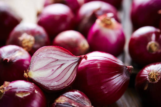 Red onion Red onions spanish onion stock pictures, royalty-free photos & images