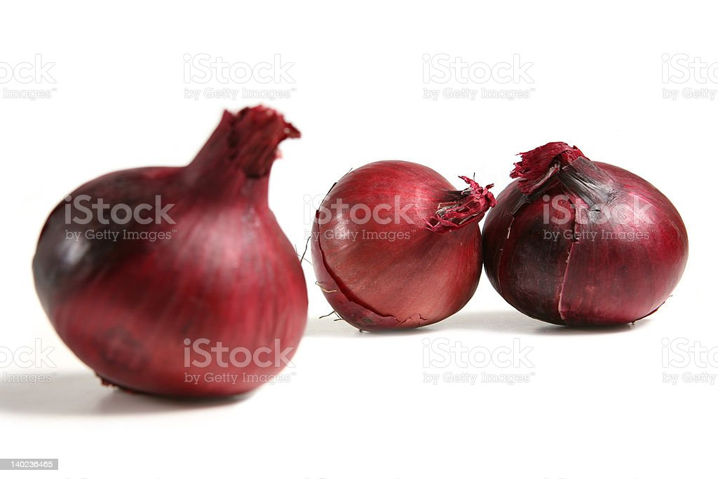 Red Onions royalty-free stock photo