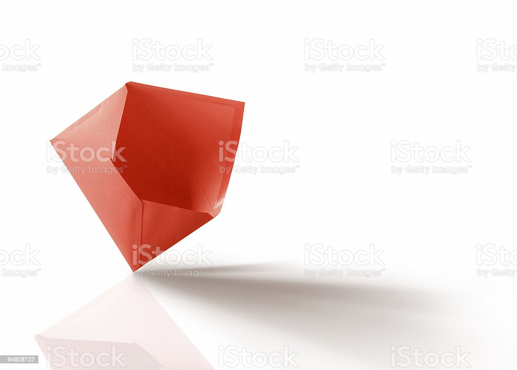 Red Open Envelope Stock Photo & More Pictures of Color
