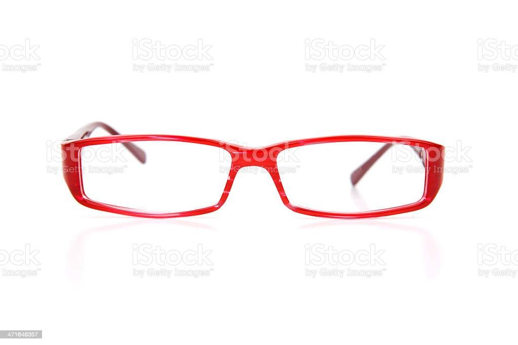 Red Optical Eyewear royalty-free stock photo