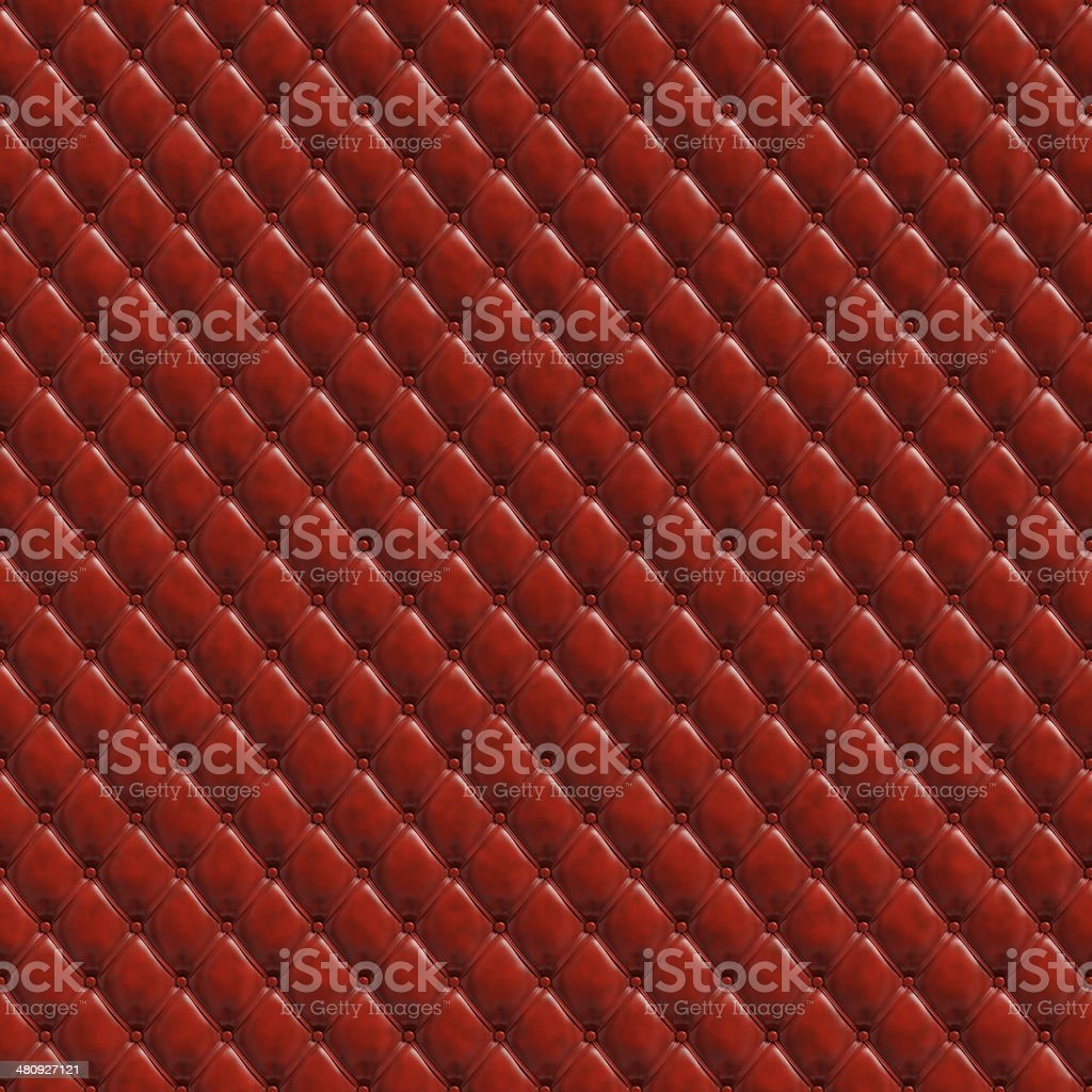 Red padding seamless texture stock photo