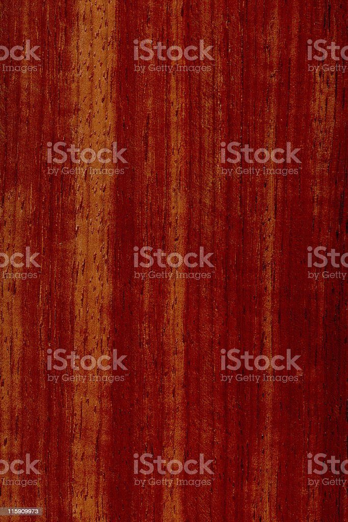 Red padouk wood, Pterocarpus dalbergioides stock photo