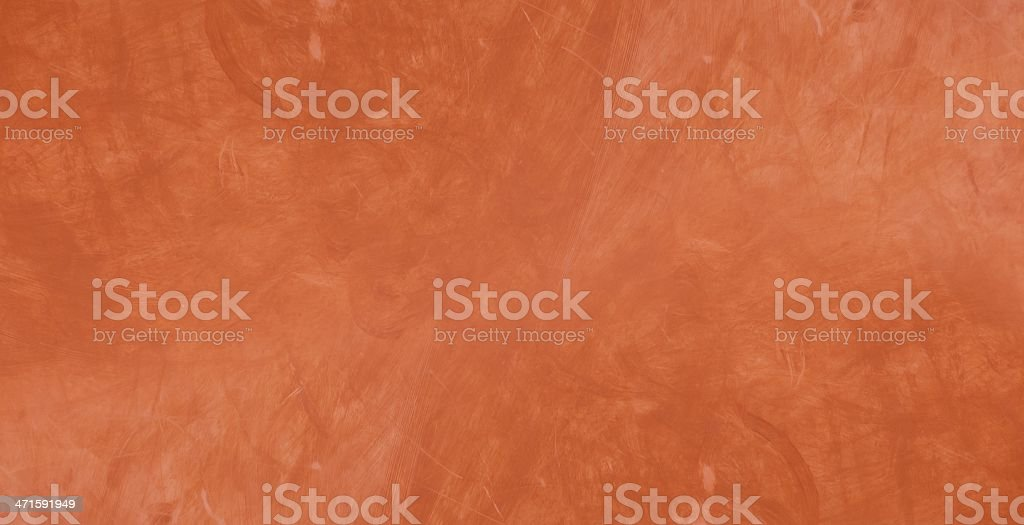 Red paint on conrete or plaster, texture royalty-free stock photo