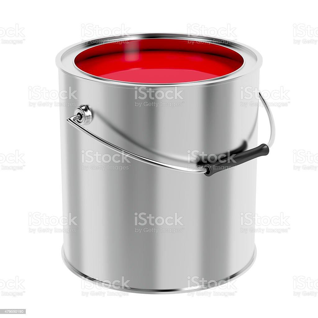 Tinta vermelha - foto de acervo
