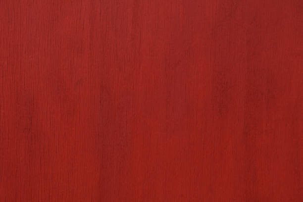 Red painted wood texture background Close-up view of a painted red wooden panel. redwood tree stock pictures, royalty-free photos & images