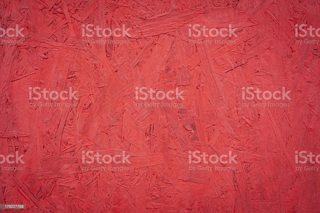 Red Painted Wooden Wall Texture royalty-free stock photo