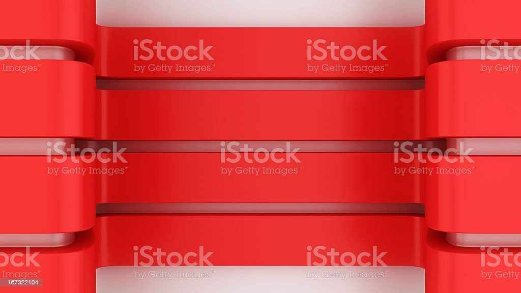 Red panels royalty-free stock photo