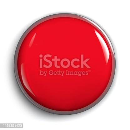 istock Red Panic Attack Alarm Button 1151351423