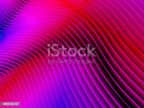 istock Red paper background 483533237