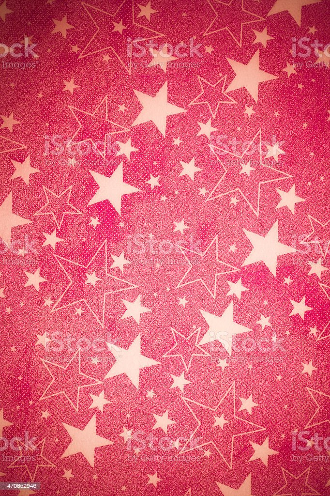 Red paper gift wrap stock photo