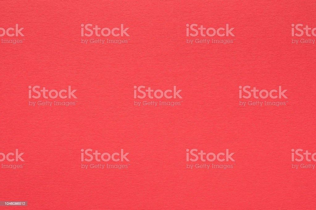 fibras de fondo de textura de papel rojo grano vacío - foto de stock
