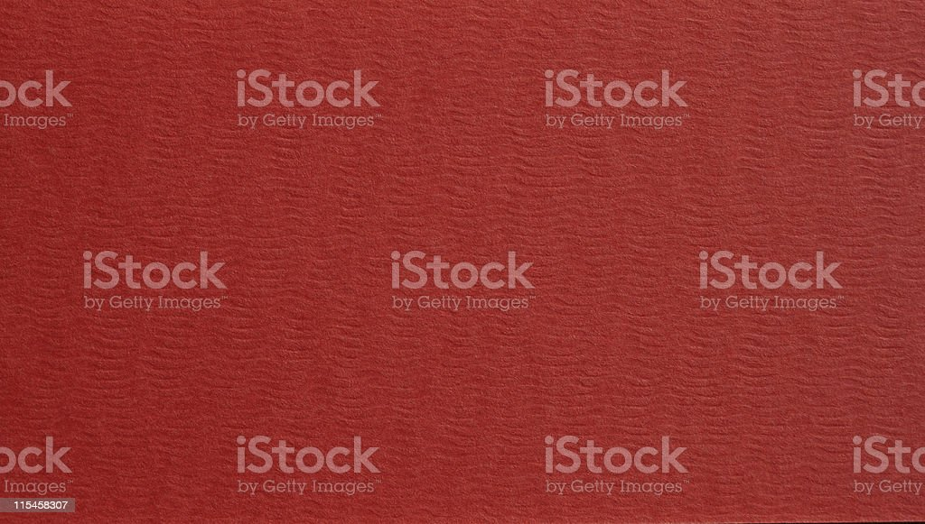 red paper Thick texture stock photo