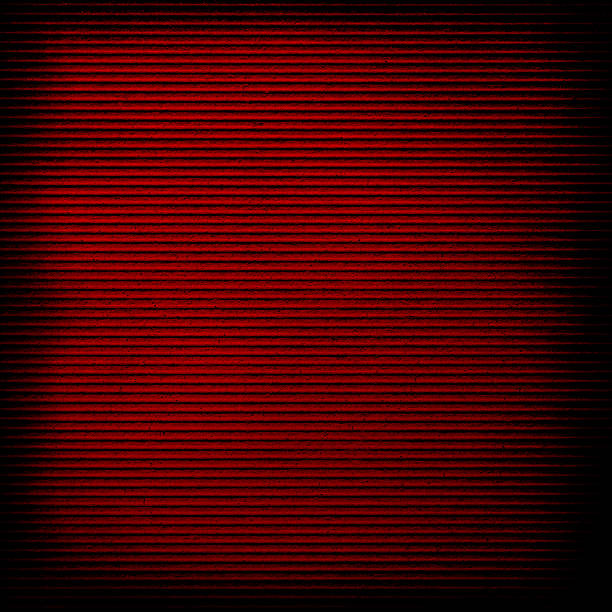 red paper with stripe stock photo